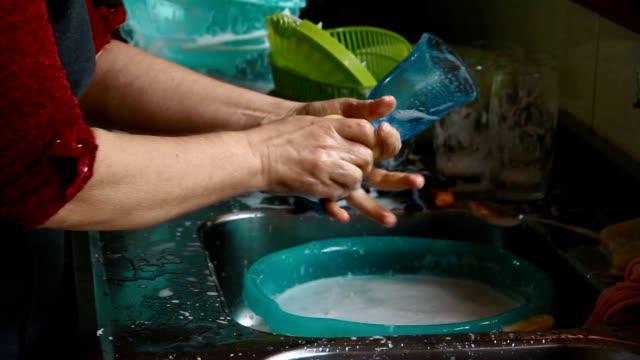 Dishwashing routine