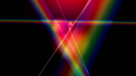 'Dispersive prism, abstract animation'