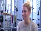 Diver Jenny Cowen talks about her efforts to be ready for Rio de Janeiro Olympic games in 2016