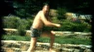 Diving Mann 1950 er