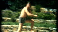 Diving Man 1950's