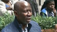 Three men jailed Reporter chatting to family members of Djodjo Nsaka Tuna Nsaka interview SOT Upset relatives