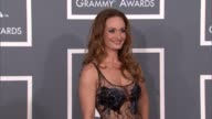 d'Manti at The 55th Annual GRAMMY Awards Arrivals in Los Angeles CA on 2/10/13
