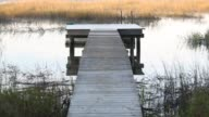 Dock and low country marsh