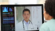 CU PAN Doctor and Nurse Video Conferencing in Hospital Intake / Richmond, Virginia, United States