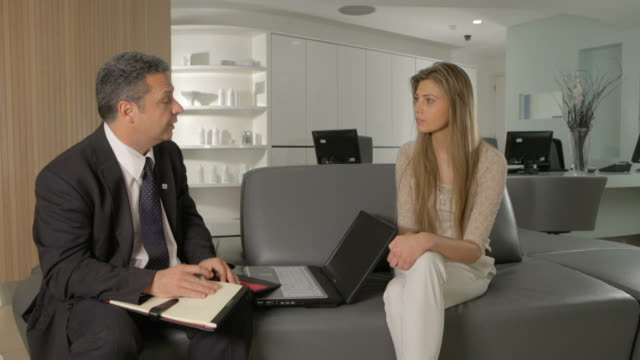 doctor and young woman consultation