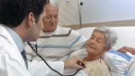 HD: Doctor Examining Elderly Patient