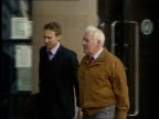 Bodies exhumed LIB ENGLAND County Durham Teesside Crown Court EXT Doctor Howard Martin along to court with another PAN