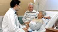 HD DOLLY: Doctor Telling Bad News To Elderly Patient