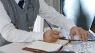 Läkare arbetar på sjukhus