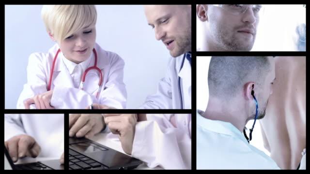 doctors split screen