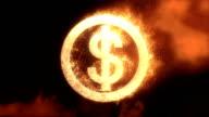 Dolar Sign Fire