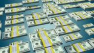 Dollar Bill Bars Bouncing Animation