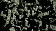 4 K banconote dollaro in calo/ad anello