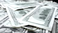 Dollar Bills Rotating