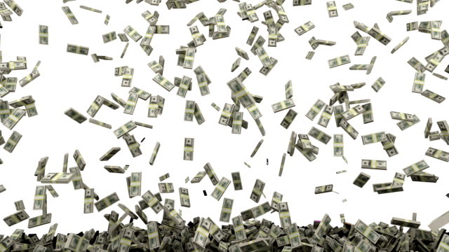 HD : Dollar money falling.