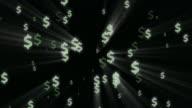 Dollars Flying
