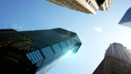 Dolly: New York Wolkenkratzer mit Schlag