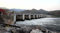 Dolly shot Dam for control stream of water