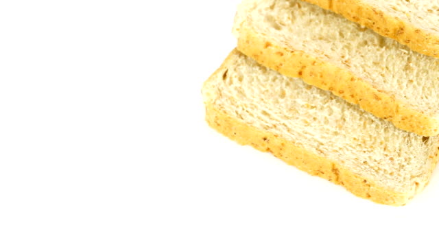 dolly shot on whole wheat bread