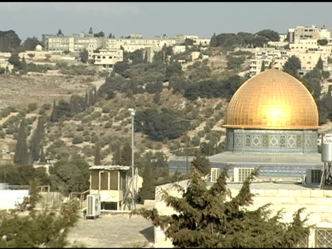 Dome of the Rock and Jerusalem