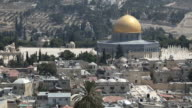 Dome of the Rock and surrounding area