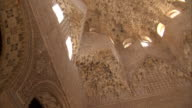 MS, LA, Domed ceiling in Alhambra palace, Granada, Andalusia, Spain