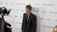 Domhnall Gleeson at Anna Karenina Premiere Presented By Focus Features on 11/14/12 in Los Angeles CA