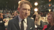 INTERVIEW Domhnall Gleeson on being fresh to AA Milne how he approached the character how life has been after Star War's at 'Goodbye Christopher...