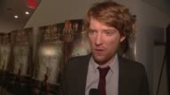Domhnall Gleeson on why he wanted to be a part of the film and on the original book at the 'Anna Karenina' Special Screening in New York NY on 11/7/12