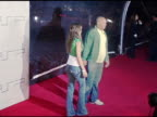 Donald Faison and Minka Kelly at the PretaPSP Accessories Show at Pacific Design Center in West Hollywood California on March 14 2005
