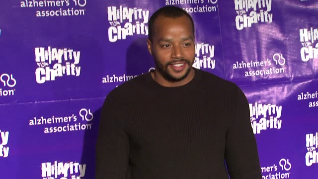 Donald Faison at Hilarity For Charity Benefiting The Alzheimer's Association on 1/13/12 in Los Angeles CA