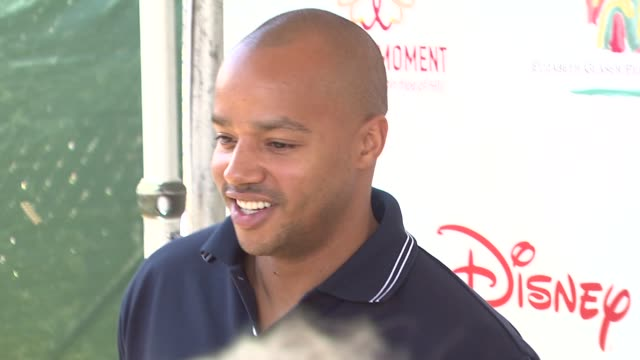 Donald Faison at the 20th Anniversary 'A Time For Heroes' Celebrity Carnival Sponsored By Disney at Los Angeles CA