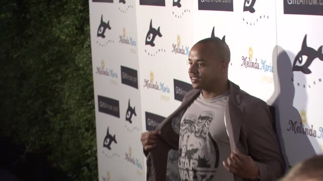 Donald Faison at the GiftArrowcom and Melinda Maria Jewelry Sponsor Whaleman Foundation Be at Los Angeles CA