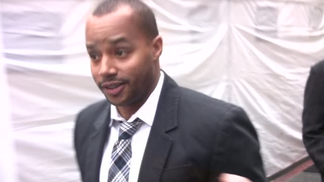 Donald Faison at the Prince of Persia Premiere Grauman's Chinese Theatre in Hollywood at the Celebrity Sightings in Los Angeles at Hollywood CA