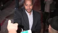 Donald Faison Cacee Cobb greet fans at OZ The Great And Powerful After Party at Lure in Hollywood 02/13/13