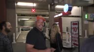 INTERVIEW Donald Faison on CocaCola versus Pepsi at the Montalban Theater Hollywood at Celebrity Sightings in Los Angeles on November 12 2016 in Los...