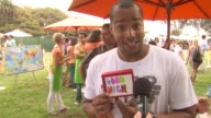 Donald Faison on what he is making in his booth on being at the event on his favorite part of the day at the 21st Annual 'A Time For Heroes'...