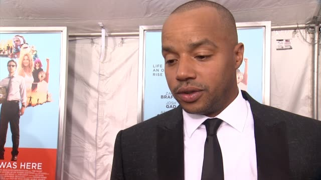 INTERVIEW Donald Faison on working with his buddy Zach Braff and having a small but important part in the film at 'Wish I Was Here' New York Premiere...