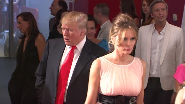 Donald Melania Trump at the New York Special Screening of The September Issue at New York NY