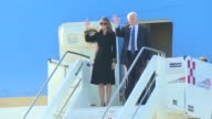 Donald Trump arrives in Rome for a highprofile meeting with Pope Francis in what is his first official trip to Europe since becoming US President
