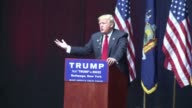 Donald Trump attacks his Republican rival Ted Cruz and ignores his crushing defeat in Wisconsin electrifying thousands of passionate supporters at a...