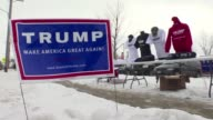 Donald Trump continues to draw large crowds to his rallies in Iowa with the final week of campaigning coming up and Trump fighting to hang onto his...
