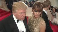 Donald Trump Melania KnaussTrump shares what he thinks of Osama bin Laden being caught on possibly becoming first lady Melania says 'we'll see what...