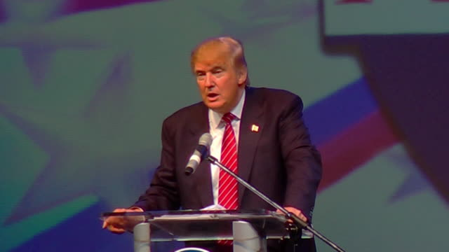 Donald Trump on Hillary Clinton and his presidential campaign attendance 1080p HD
