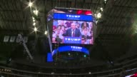 Donald Trump rally at American Airlines Center in Dallas
