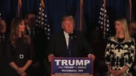 Donald Trump wins the New Hampshire Primary Election as the GOP candidate The full victory speech raw footage Recorded using multiple box audio