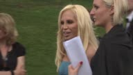 Donatella Versace at the Cannes Film Festival 2009 amfAR Red Carpet at Antibes