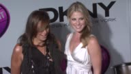 Donna Karan and Ali Larter at the DKNY Delicious Night Fragrance Launch Party at 711 Greenwich Street in New York New York on November 7 2007