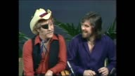 INTERVIEW Donnie Sutherland DR HOOK RAY SAWYER DENIS LOCORRIERE SUTHERLAND Asked where did the name come from they said 'Peter Pan' Talked about...